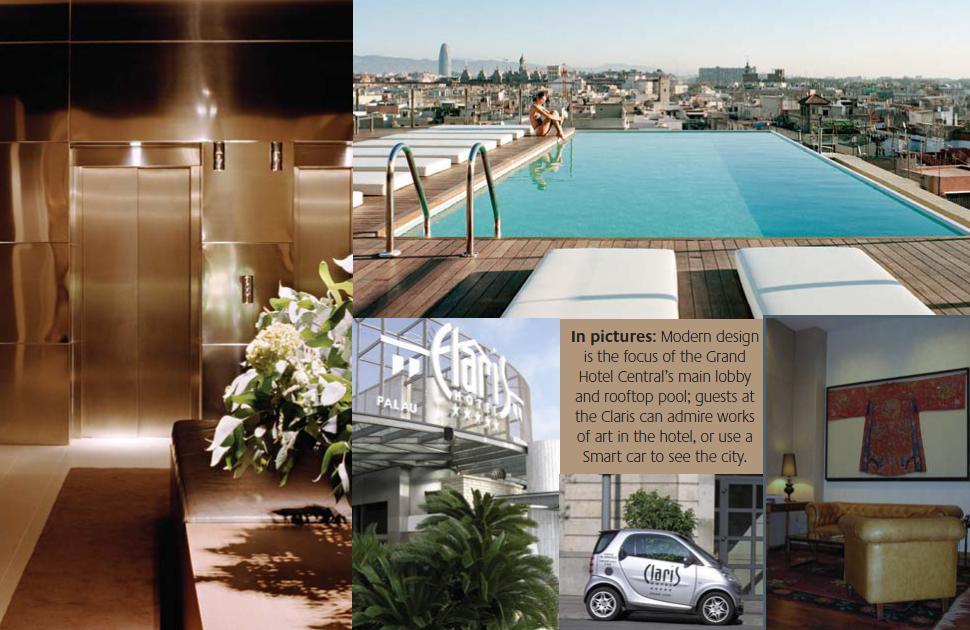 Hotel claris en barcelona